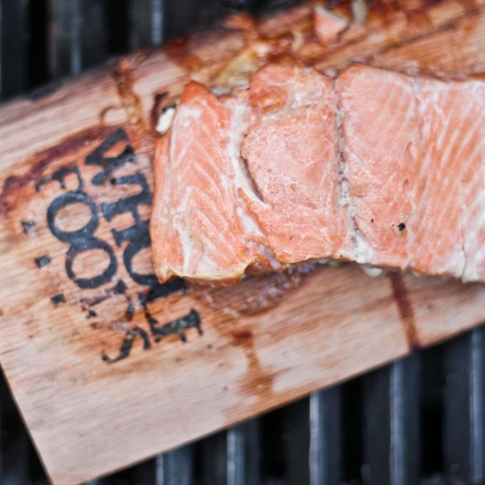 Smoked Apple Maple Salmon | My Clean CuttingBoard