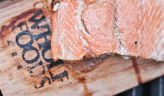 Smoked Apple Maple Salmon | My Clean Cutting Board